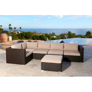 Read Reviews Martinez 6 Piece Sectional Set with Cushions By Brayden Studio