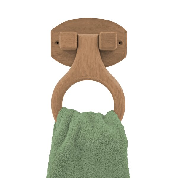 Wall Mounted Towel Ring by SeaTeak