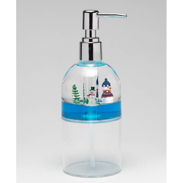 Floating Snowman Lotion Dispenser by The Holiday Aisle