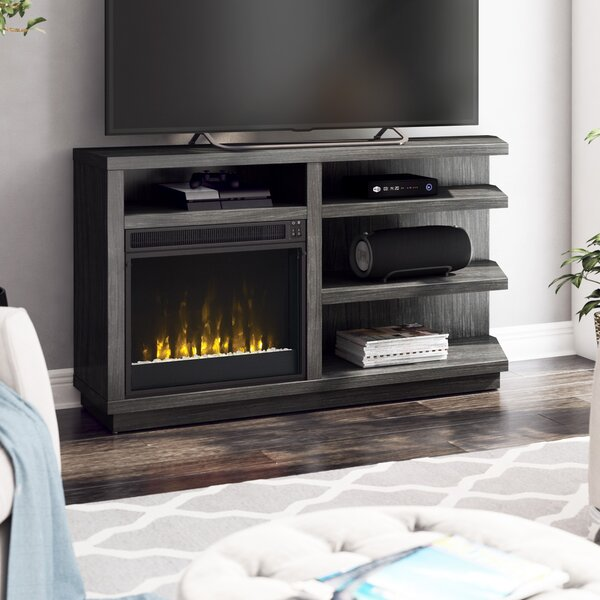 Blytheswood TV Stand For TVs Up To 65 Inches With Electric Fireplace Included By Latitude Run