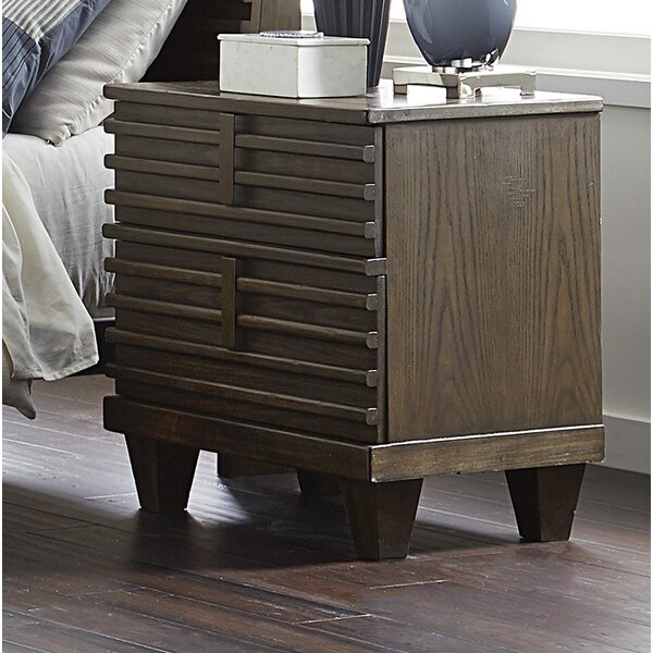 Wolak 2 Drawer Nightstand by Union Rustic