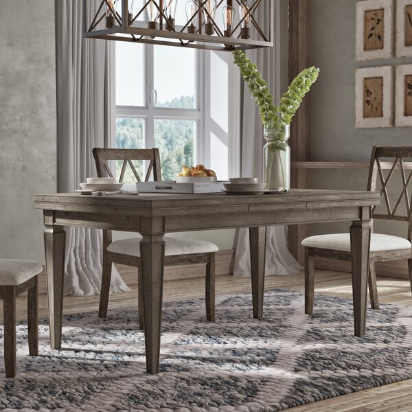 Jewell Extendable Dining Table by Gracie Oaks Gracie Oaks