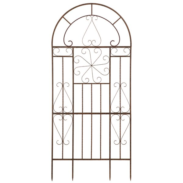 Kaleidoscope Steel Trellis by Deer Park Ironworks