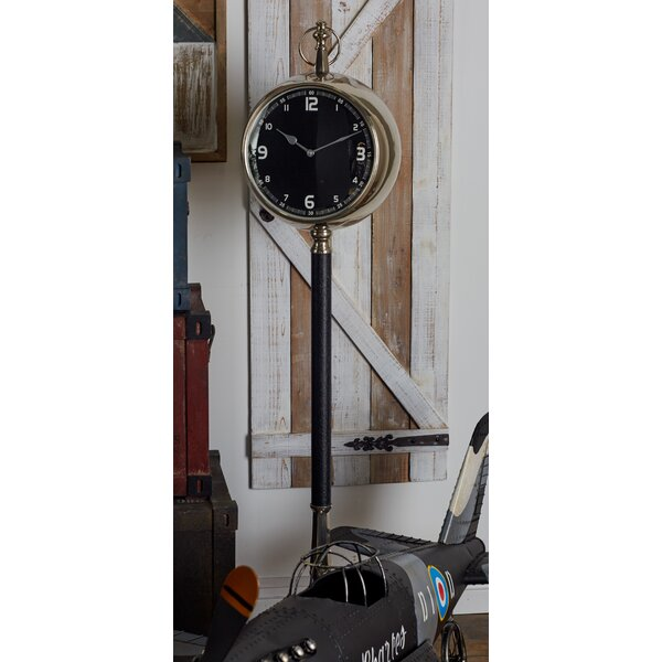 Metal 53 Floor Clock by Cole & Grey