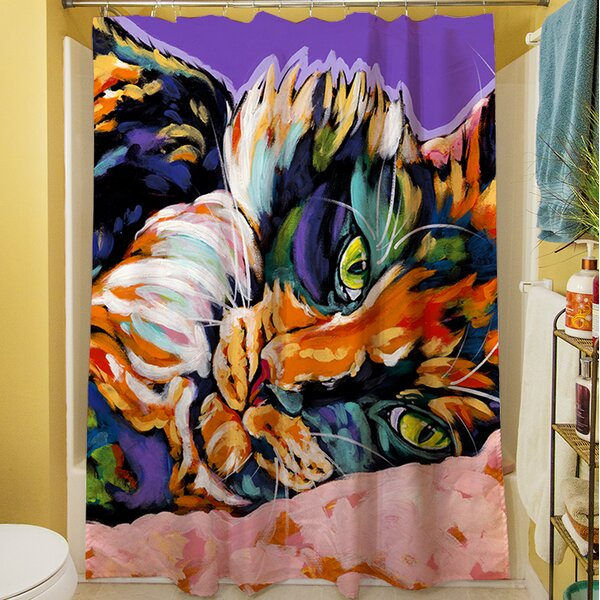 Calico Dreams Shower Curtain by Manual Woodworkers & Weavers