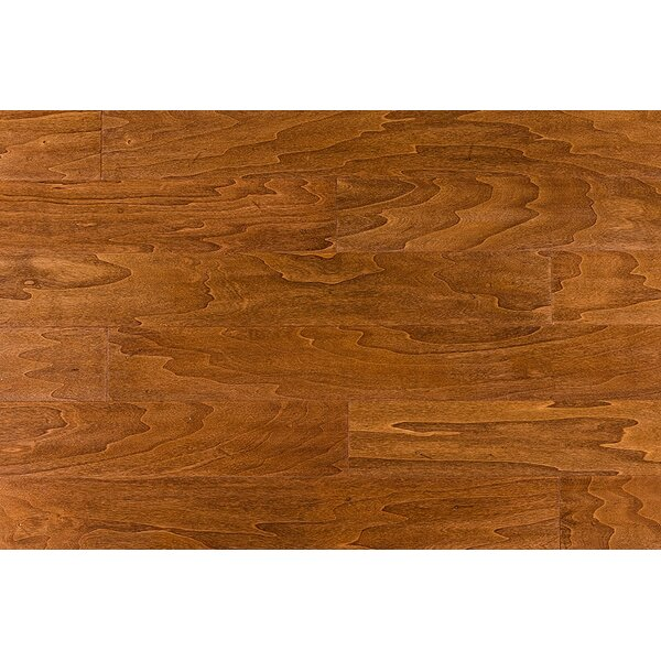 Latrobe 5 Engineered Hardwood Flooring in Cinnamon by Alcott Hill