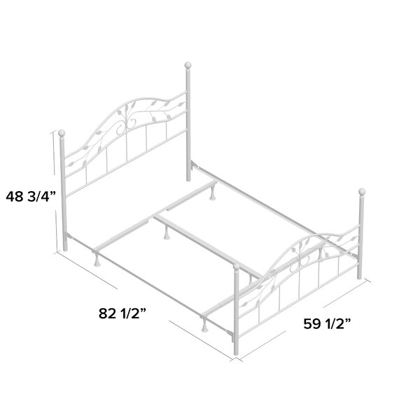 Madawaska Standard Bed by Laurel Foundry Modern Farmhouse