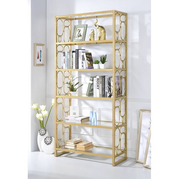 Borum Etagere Bookcase by Everly Quinn