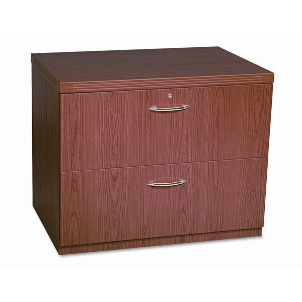 Aberdeen 2-Drawer Lateral filing cabinet by Mayline Group