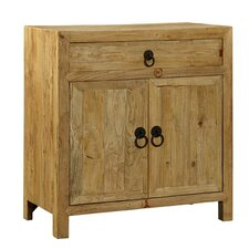 Elm 1 Drawer 2 Doors Accent Cabinet by Furniture Classics LTD