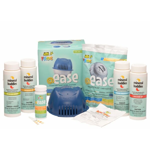 Mineral Buddies @ease Floating Sanitation Start-Up Kit by Carefree Stuff