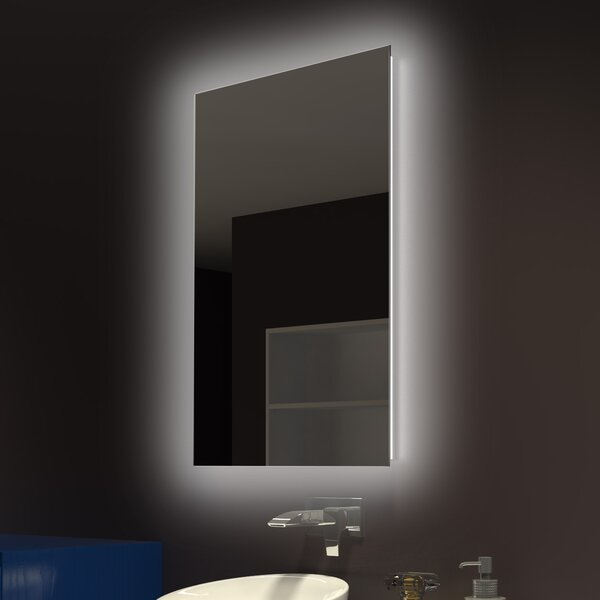 Moumoune Backlit Wall Mirror by Everly Quinn