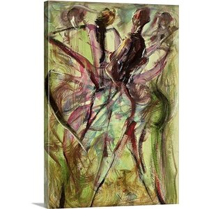 'Windy Day' by Ikahl Beckford Painting Print on Canvas by Great Big Canvas