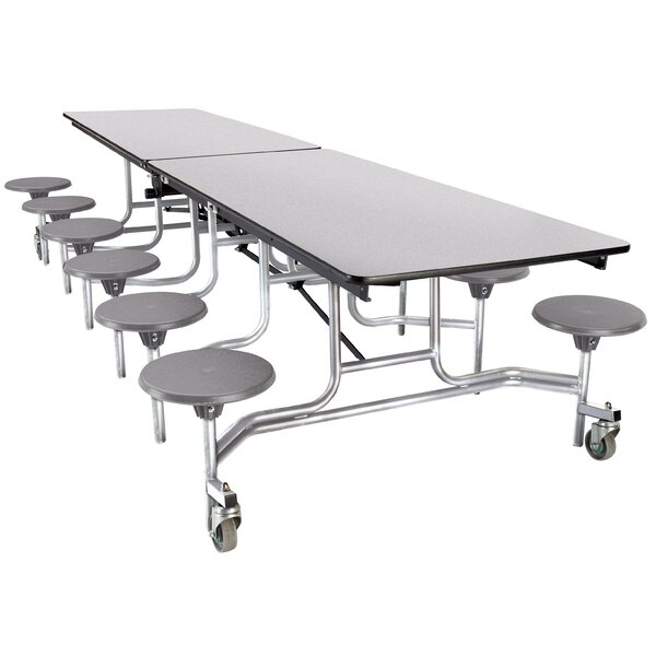 121 x 59 Rectangular Cafeteria Table by National Public Seating