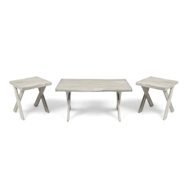 3 Piece Coffee Table Set By Bay Isle Home