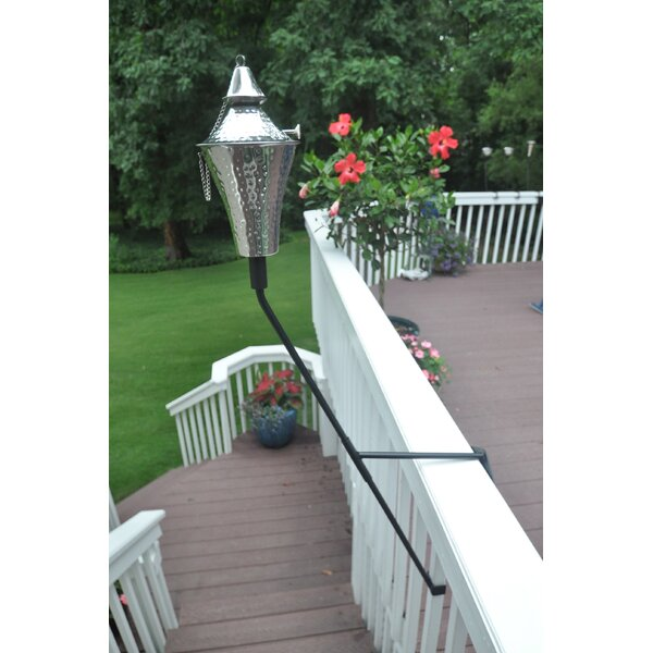 Kona Deluxe and Deck Mount Bracket Torch (Set of 2) by Starlite Garden and Patio Torche Co.
