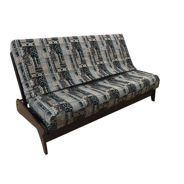 Review Premium Heavy Texture Box Cushion Futon Slipcover