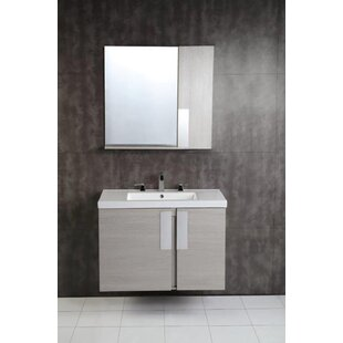 Buy luxury 31.65 x 29.53 Surface Mount Medicine Cabinet ByBellaterra Home