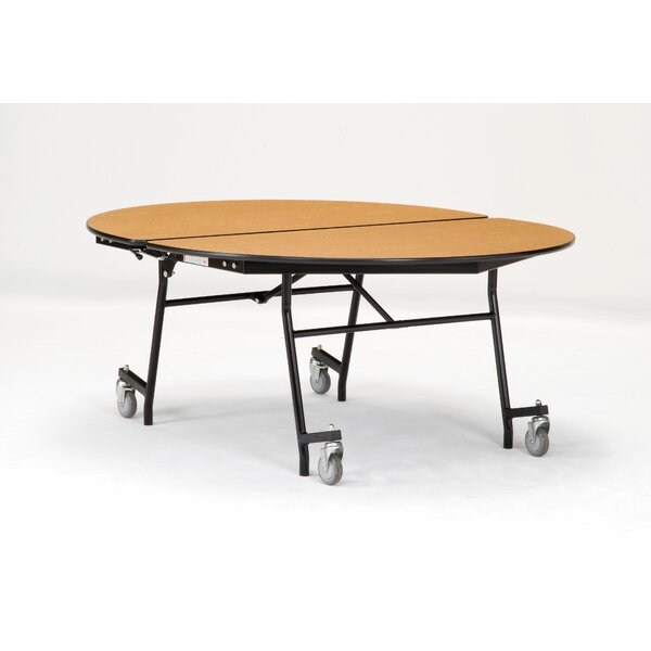 72 Elliptical Cafeteria Table by National Public Seating