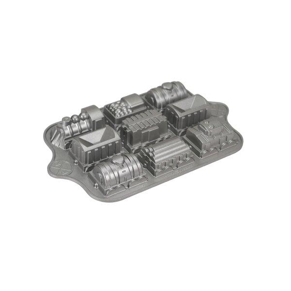 Bundt Brand Bakeware Train Cake Pan by Nordic Ware