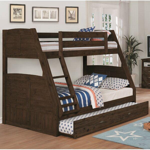Laurenza Twin over Full Bunk Bed with Trundle by Birch Lane™ Heritage