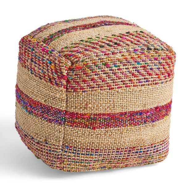 Hoehne Pouf by Bungalow Rose