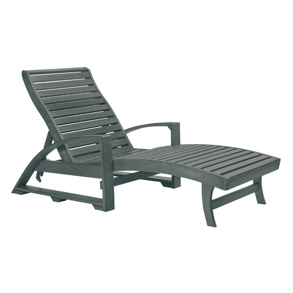 Longfellow Reclining Chaise Lounge by Bay Isle Home