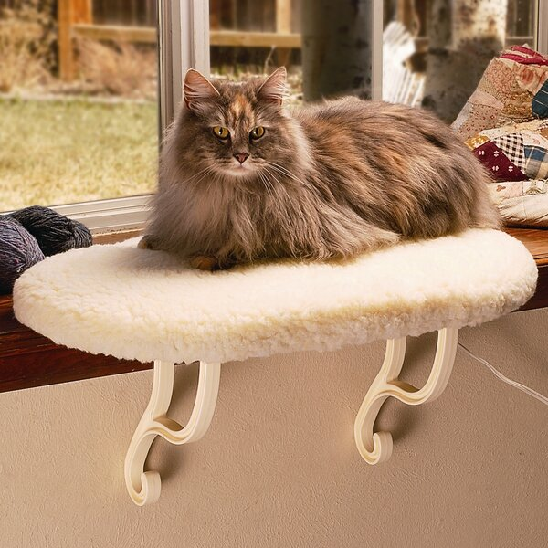 24 Kitty Sill Cat Perch by K&H Manufacturing