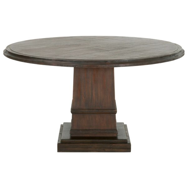 Theo Solid Wood Dining Table by Gracie Oaks