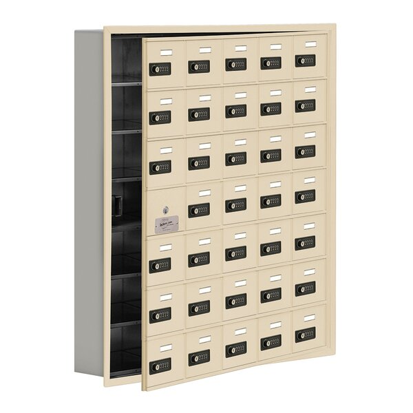 34 Door Cell Phone Locker by Salsbury Industries