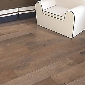 Hanbridge 5.25 x 47.25 x 11.93mm Oak Laminate Flooring in Brown by Mohawk Flooring