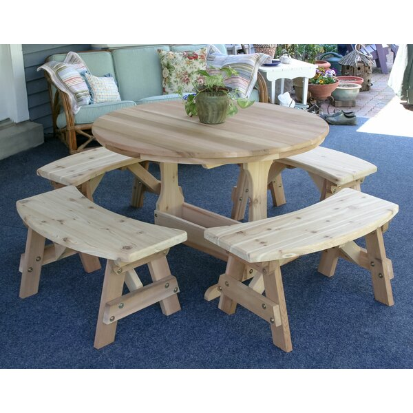 Fragoso 5 Piece Dining Set by August Grove