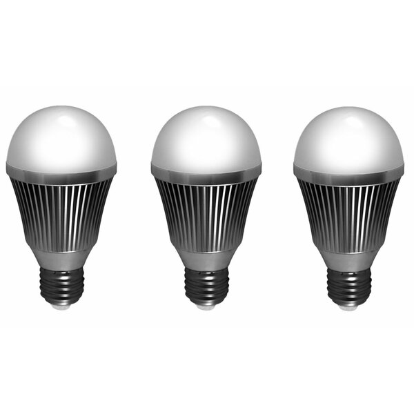7W E26 Dimmable LED Light Bulb (Set of 3) by SELS - Smart Era Lighting Systems