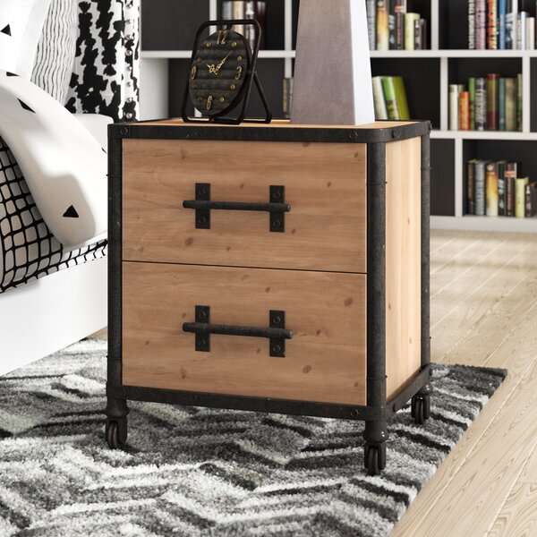 Chadwood 2 Drawer Nightstand By Trent Austin Design by Trent Austin Design No Copoun