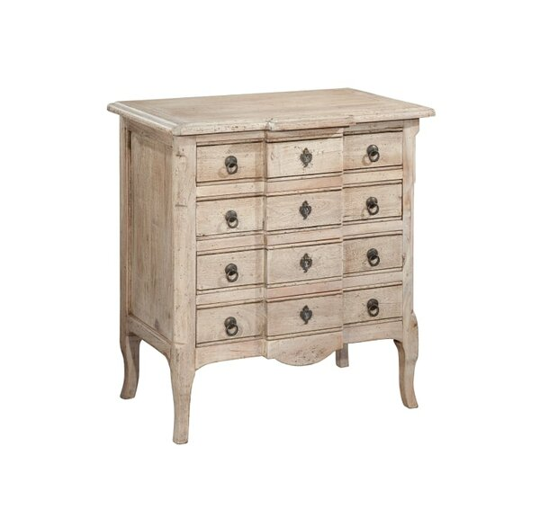 Regan 4 Drawer Commode Standard Chest by August Grove