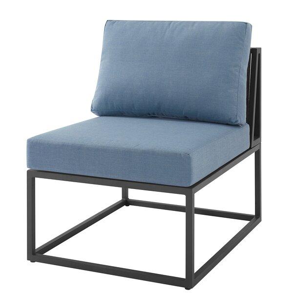 Wynnwood Modular Patio Chair with Cushions by Ebern Designs Ebern Designs