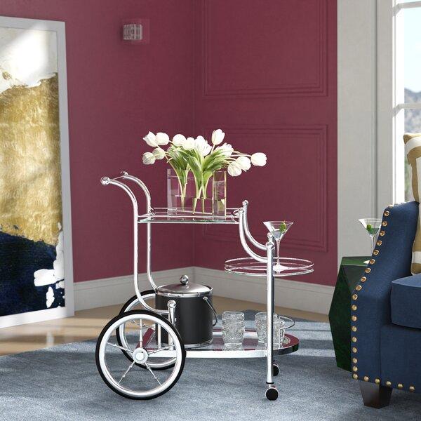 Hardy Bar Cart by House of Hampton
