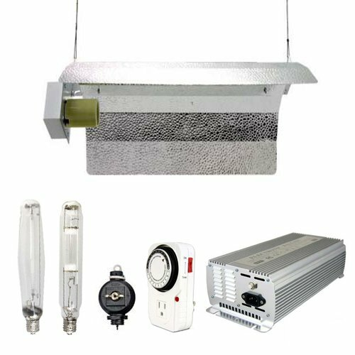 1000 Watt HPS MH Grow Light Winged Reflector Hood Digital Kit by Virtual Sun