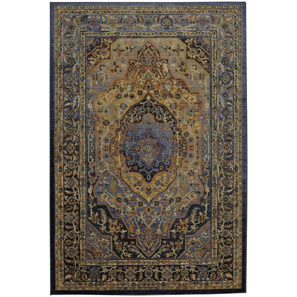 Providence Mosher Blue Area Rug by Mohawk Home