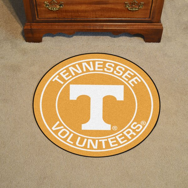 NCAA University of Tennessee Roundel Mat by FANMATS