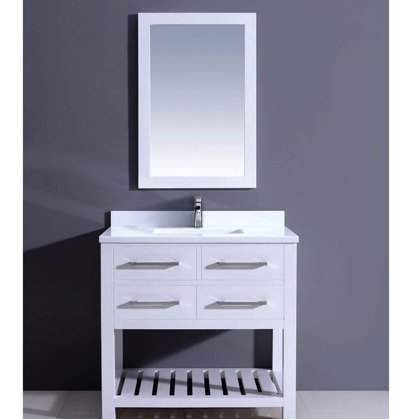 Bohemian 36 Single Vanity Set with Mirror by Dawn USA