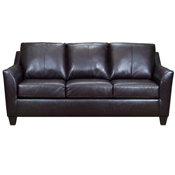 Lochmoor Leather Sofa By Ebern Designs