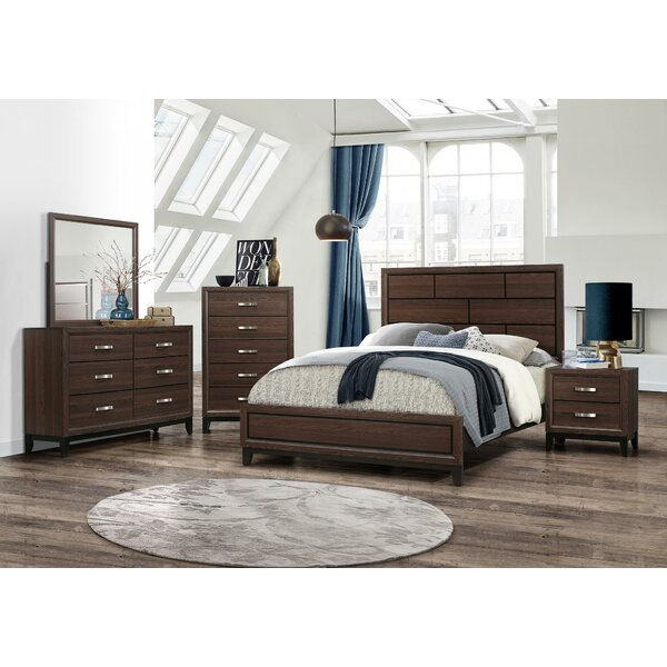 Rachita Standard 5 Piece Bedroom Set by Charlton Home