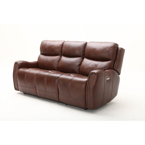 Cute Style Ellington Leather Reclining Sofa by Southern Motion by Southern Motion