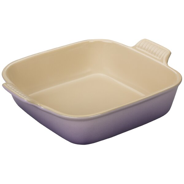Stoneware Square Heritage Dish by Le Creuset