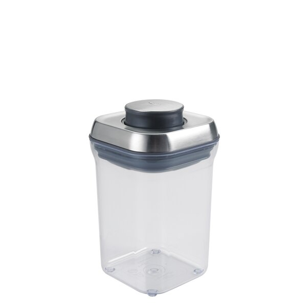 SteeL Small Square Pop 28.8 Oz. Food Storage Container by OXO