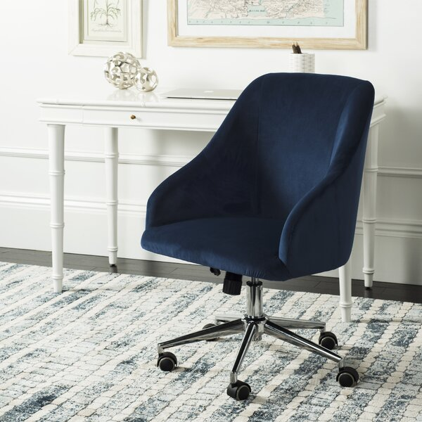 Raymond Swivel Mid-Back Desk Chair by Willa Arlo Interiors