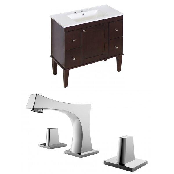 Rosehill Floor Mount 36 Single Bathroom Vanity Set by Winston Porter