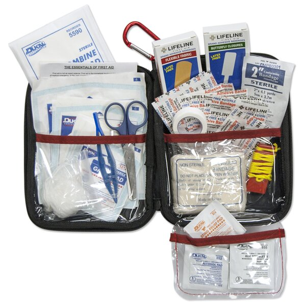 Hard Shell Foam 85 Piece First Aid Kit by Lifeline