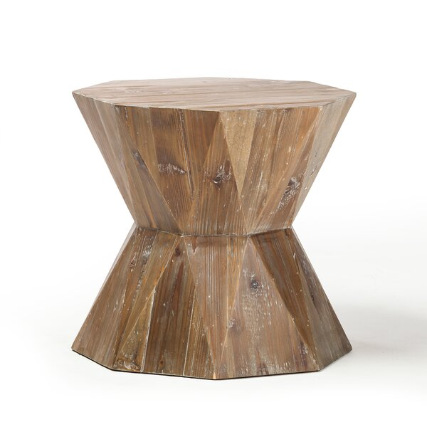 Arviso Reclaimed Fir End Table By Foundry Select by Foundry Select Reviews